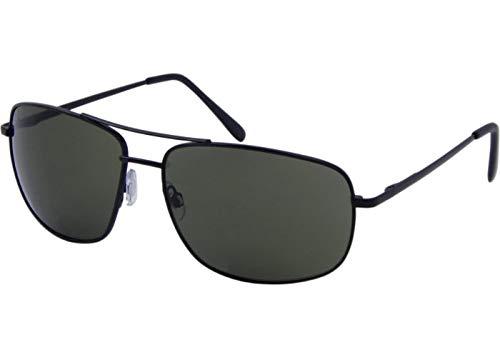 AZ-Eyewear Gafas de sol estilo casual unisex, categoría 3, gris/verde (7134)