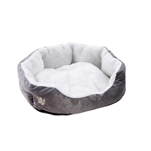 Runfon - Sofá acolchado o cama para perro, colchón lavable con cojín extraíble para perro, gato, animales de compañía