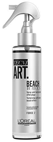 L'Oréal Professionnel Paris Tecni.ART Beach Waves, Salzspray für natürliche Wellen, Wellenspray für eine unordentliche Mähne, 150 ml