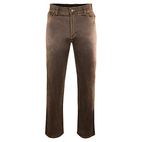 AKAH GmbH Traveller Jeans für Jagd, Freizeit, Angeln und Wandern Restposten, Braun, 52