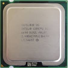 Intel Core 2 Duo E6600 2,4 GHz/4 M/1866 processor- SL9ZL