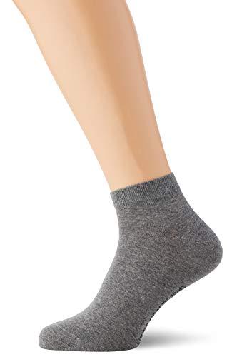Living Crafts Sneaker-Socken, 2er Pack 39/42, stone grey