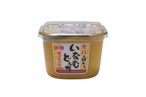 赤マルソウ いなむどぅちみそ(甘口白みそ)500gカップ ×3