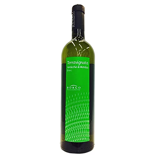 6 bottiglie di Terravignata Verdicchio di Matellica Borgo Paglianetto 2020 Vino Biologico