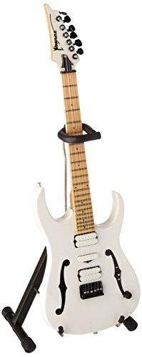 AXE HEAVEN Paul Gilbert Signature F - Guitarra (tamaño pequeño), Color Blanco