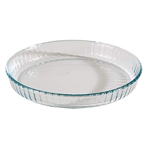 Quicheform/Quicheform, Glas, rund, 24 cm