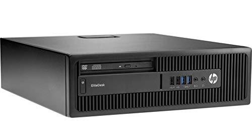 Preisvergleich Produktbild HP EliteDesk 800 G1 Desktop PC (SFF) / Intel Core i5-4590,  8GB RAM,  240 GB SSD,  Win 10 Pro (Generalüberholt)