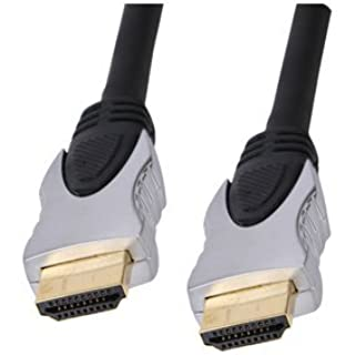 World of Data 1m HDMI Cable - Professional Quality - 1080p (Full HD, 3D & 4K ULTRA HD) - v1.4 - Audio & Video - 24k gold Plated - Stylish Silver Hood Finish (B001F5O2VW) | Amazon price tracker / tracking, Amazon price history charts, Amazon price watches, Amazon price drop alerts