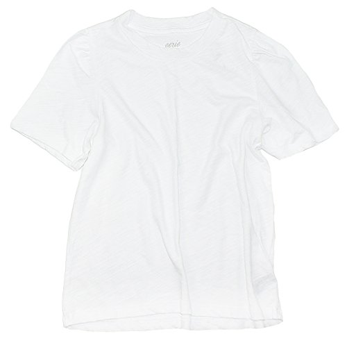 American Eagle Aerie Women's Oh Baby! Cropped Tee W-16 (Medium, 100 White)
