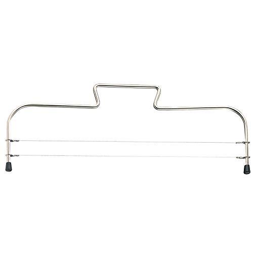 Westmark Archetto tagliatorta con 2 Fili, Acciaio Inox, Lunghezza: 32 cm, Simplex-Duo, Argento, 71602270, Stainless Steel