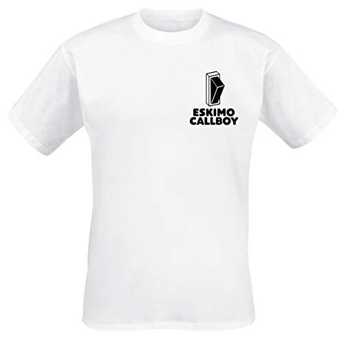 Eskimo Callboy Hypa Hypa Switch Männer T-Shirt weiß L 100% Baumwolle Band-Merch, Bands