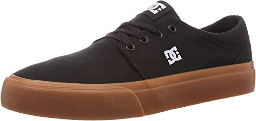 DC Shoes Herren Trase TX Low-Top Sneaker, Schwarz (Black/Gum Bgm), 43 EU