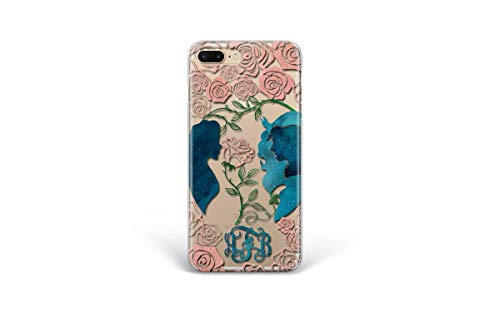 Kaidan iPhone 11 Case 7 8 Plus 5 6s SE Enchanted Rose 12 Pro Max Mini XS X XR Beauty and the Beast Samsung Galaxy S10 S9 + S10e Personalized Note 10 20 Ultra 9 8 Google Pixel 3A XL Compatible LG arp12
