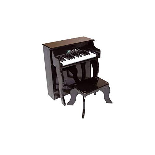 Delson 2505BK Piano droit pour enfant Noir