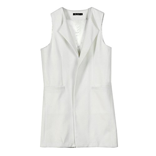 Vovotrade ✿✿ Dames Solide mouwloos vest Gilet jas jas Parka Outwear gebreide jas vrouwen herfst winter faux suède etnisch mouwloos kwasten franje vest gebreid vest