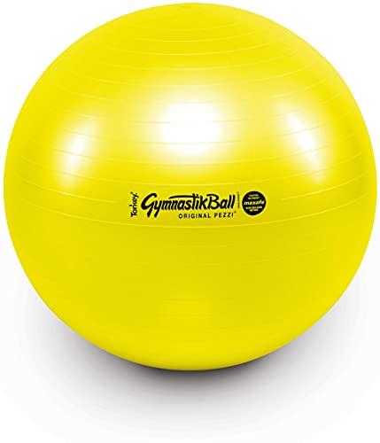 ATC Handels GmbH Pezzi - Palla da ginnastica Maxafe, 65 cm, colore: Giallo