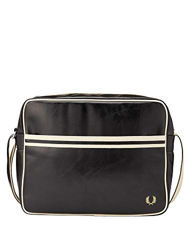 Fred Perry Classic Uomo Shoulder Bag Nero