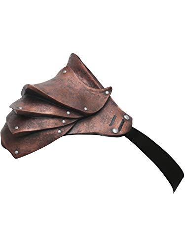Copper Pauldron Shoulder Armour