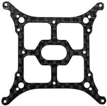 Rakon Closeout CNC 3K Pure Carbon Fiber Main Frame Set - Blade Nano QX2/Glimpse