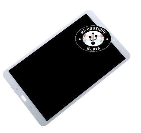 MBN MABOUTIQUEMEDIA - Pantalla LCD + cristal táctil para Samsung Galaxy Tab A 10.1 T580 T581 T585, color blanco