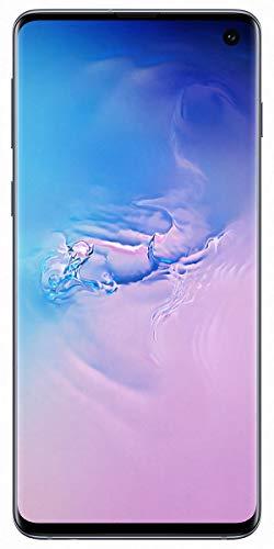 Samsung Galaxy S10 128GB / 8GB RAM SM-G973F Hybrid/Dual-SIM (GSM Only, No CDMA) Factory Unlocked 4G/LTE Smartphone - International Version (Prism Blue)