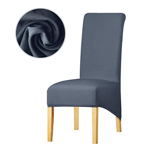 13 Solid Colour Elastic Chair Cover XL Size Long Back Europe Style Seat Covers Stretch Chair Covers Banquet Home