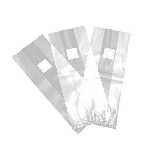 Aiyrchin Bolsas de Hongos/Setas Bolsas de Cultivo/farmmushroom freza Micron Filtro, Extra Gruesa 8 mils Tamaño 12.5x19.6inch, para Sustrato autoclavables 20pcs