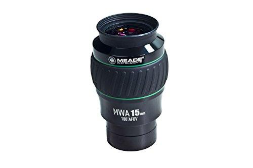 Meade Instruments 607017 Eyepiece, 100 Degree, MWA 15MM, 2-Inch...