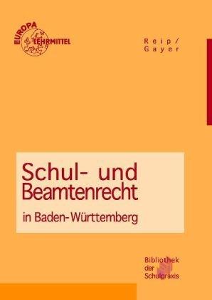 Schul- und Beamtenrecht in Baden-Württemberg