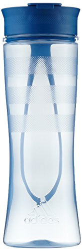 adidas Damen Bottle 0.7L Trinkflasche, Easy Blue/Core Blue, NS