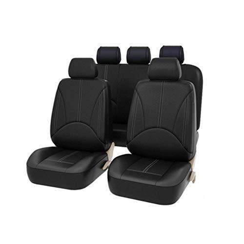 JXQ Sitzbezüge Sitzbezügesets Autositz Four Seasons Universal All-Inclusive-Sitzkissen Net Red Sitzbezug Winter Leder Sitzbezug (Color : B)