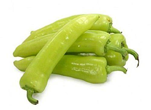 Portal Cool 100 Seeds - Sweet Banana Pfeffer/Gelb Wax Chili (Capsicum annum)