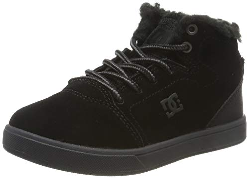 DC Shoes Jungen Crisis Wnt-high-top Shoes for Boys Schlupfstiefel, Black, 28 EU