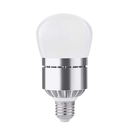 Dusk to Dawn Light Bulb - Aukora 12W (100-Watt Equivalent) 1200LM E26/E27 Led Bulb Built-in Photosensor Detecter with Auto Switch Outdoor/Indoor LED for Front Door Garage Basement Hallway, Cool White