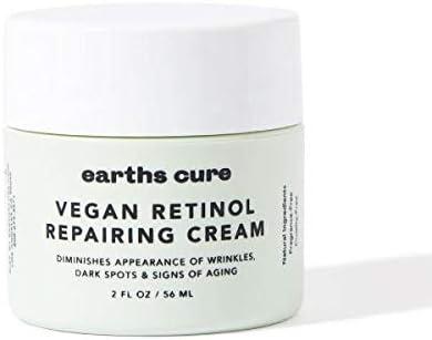 EarthsCure Anti Aging Cream with 2 5 Vegan Retinol Botanicals product image