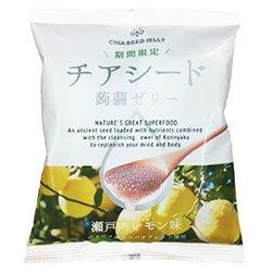 若翔 チアシード蒟蒻ゼリー 瀬戸内レモン味 10個×12袋