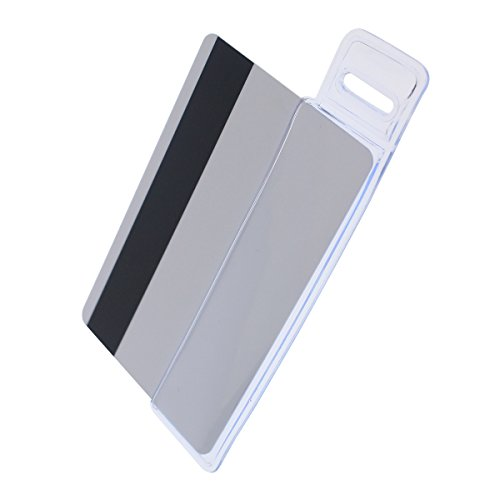 Half Card Vinyl Holder with Slot - Vertical by Specialist ID, Sold Individually