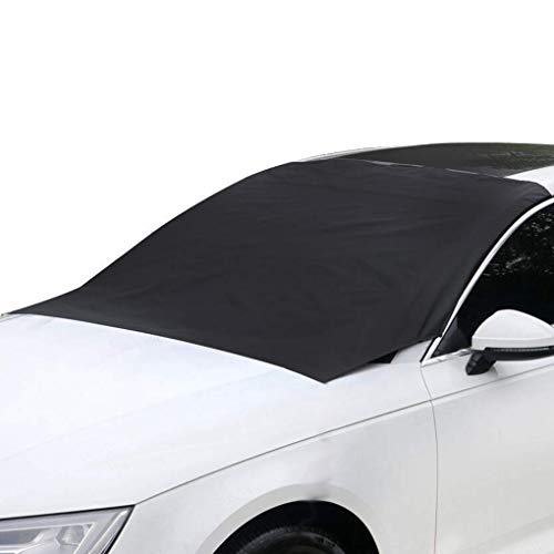 zhibeisai Magnetic Car Covers Windscreen Heat Sun Shade Anti Snow Frost Ice Shield Dust Protector Winter Car Cover
