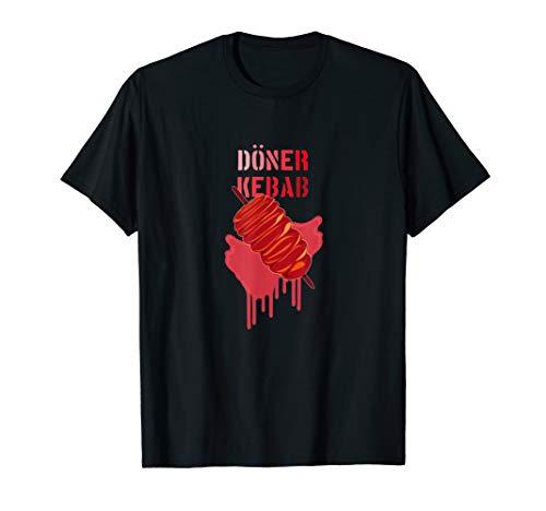 Döner Kebap   Fleischspieß   Fast Food   Essen T-Shirt