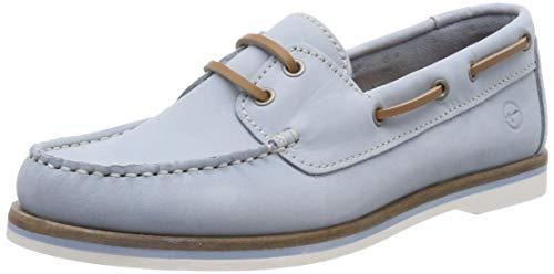 Tamaris Damen 1-1-23616-22 727 Sneaker, Blau (SKY NUBUC 727)), 36 EU