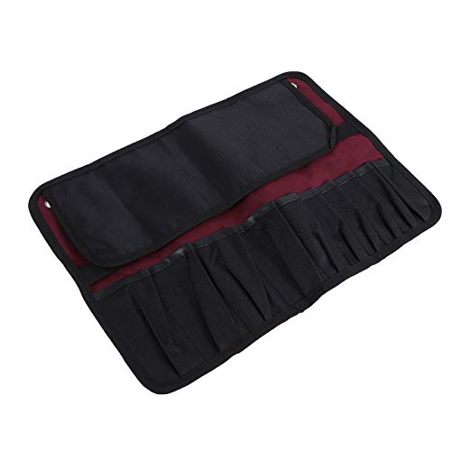 DOITOOL Canvas Roll Up Tool Bag Multi- Purpose Tool Pouch Tool Organizer Hanging Tool Carrier Tote for Tool Storage Wrench Organizer