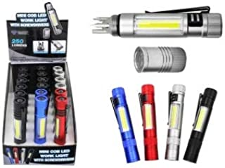 Diamond Visions 08-0905 3 LED Flashlight with Magnetic Pick Up Diamond Visions Inc