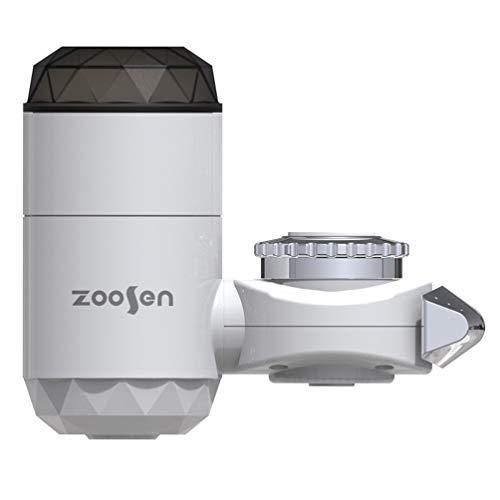 UPKOCH Distribuidor de agua caliente instantánea, grifo del calentador eléctrico, grifo del agua del grifo de calentamiento rápido de la cocina con pantalla digital LED
