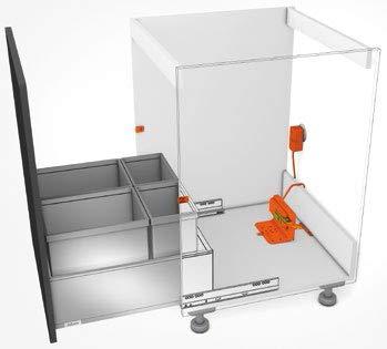 Blum, Servo-Drive Waste/Recycle Set