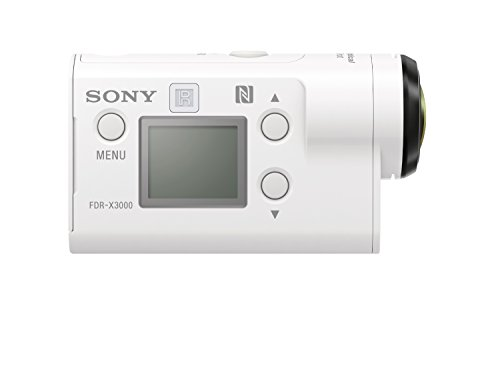 Sony FDR-X3000R 4K Action Cam mit BOSS Live View Remote Fernbedienung – weiß - 11