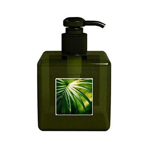 Plante de hojas verdes Photo Nature - Bomba de botella para dispensador de jabón