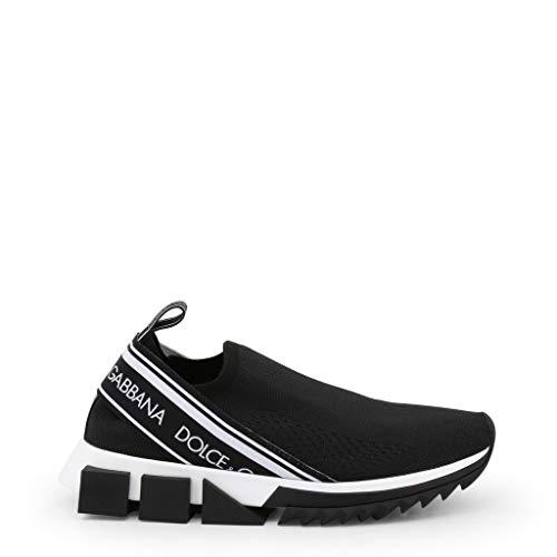 Scarpe Basse Sneakers Donna Nero (CK1595_AZ568) - Dolce&Gabbana