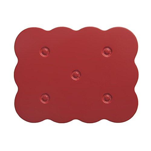Lorena Canals-Poignée de meuble biscuit rouge (lot de 2) - Rouge