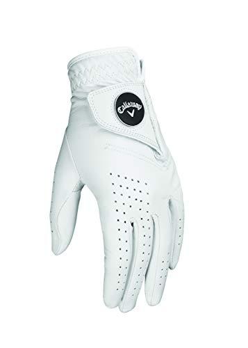 Callaway Herren Golf Handschuhe Dawn Patrol, Rechte Hand (für den Linkshänder), weiß, X-Large