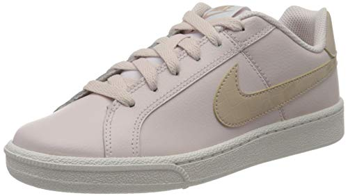 Nike Womens Court Royale Sneaker, Barely Rose/Fossil Stone-White, 40.5 EU